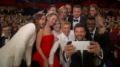 Now this is the kind of shot #Ellen would have gotten if she'd used a #SelfieStick! Much better, right? #selfiesticks #selfies #selfie
