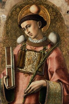 Carlo Crivelli, Saint Stephen 1476