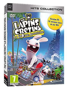 The Lapins Crétins La Grosse Aventure - PC - NEUF - VF