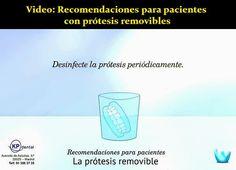 Video: Recomendaciones para pacientes con prótesis removibles | OdontoFarma
