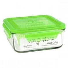 Wean Green - Meal Cube 31oz (900ml) - Peas Eco Kids, Lentil Stew, On The Go Snacks, Glass Containers, Walmart Shopping, Cube, Meals, Canning, Green