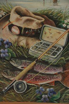 vignette design: Gone Fishing