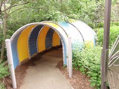 Tunnel in Childrens Garden
