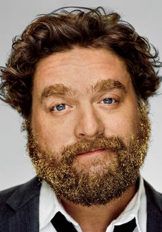 ok..just thinking about his act cracks me up..but, then they added the glitter beard...resistance is futile