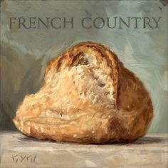 'Amberton Publishing French Country Bread' Canvas Art