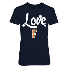 Mascot Love - Cal State Fullerton Titans T-Shirt  Cal State Fullerton Titans Official Apparel - this licensed gear is the perfect clothing for fans. Makes a fun gift!  AVAILABLE PRODUCTS District Women's Premium T-Shirt - $29.95   District Women Gildan Unisex Pullover Hoodie District Men Next Level Women Gildan Long-Sleeve T-Shirt Gildan Fleece Crew Gildan Youth T-Shirt View sizing / material info This is a fitted female style. For a true fit order size up. ...