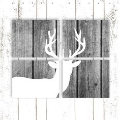 Hey, I found this really awesome Etsy listing at https://www.etsy.com/listing/175171698/deer-art-deer-prints-faux-wood