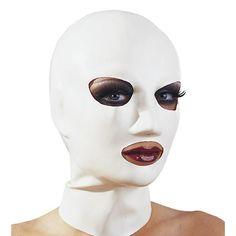 Mascara blanca de latex 24.95€ http://www.tiendafetichista.com/mascara-blanca-de-latex.html