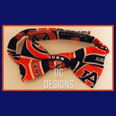 Boys Auburn University bow tie