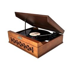 Buy Pyle Home PVNTT6UMT Vintage Style Phonograph/Turntable With USB To PC  Connection