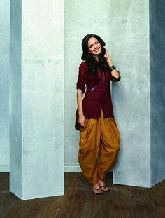 Short kurta with patiala #salwar