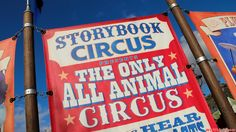 The theming of Storybook Circus is great! So much detail all around!