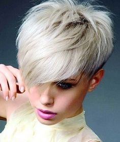 30 Short Sassy Haircuts to Add a Trendy Twist into Your Look Short Haircuts With Bangs, Long Hair With Bangs, Short Hair Cuts, Short Hair Styles, Pixie Hairstyles, Hairstyles With Bangs, Corte Y Color, Hair Dos, New Hair