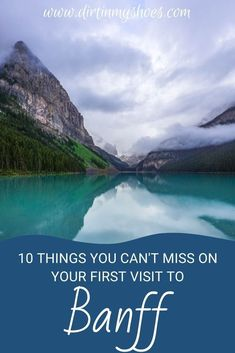 There are so many things to do in Banff National Park, but if this is your first road trip to the park it can be a little overwhelming. Don't worry, this list includes all the things you can't miss while on your vacation, plus a bunch of information to help you make your way around the park. Whether or not you like hiking and camping this list will make it easy to have a fun adventure. Fun Adventure, And So The Adventure Begins, Greatest Adventure, Canada National Parks, Banff National Park, Nature Activities, Bob Ross, Amazing Adventures, Go Camping