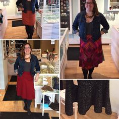 Embrace this weather with a new skirt...it's a bonus that they're on sale!  Clockwise from top left: @moovmentdesign $36 @mandaladesigns $47.60 @annie.50 $78.40 @mandaladesigns $82.60 #canadianfashion #northdal #canadianmade #workshopandflock #ottawastyle #shopgirllife #slowfashion #ootd