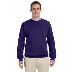 50/50 Nublend Fleece Men's Crew-Neck Deep Sweater
