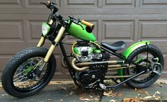 Monthly Feature, xs 650 chopper,