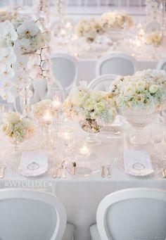 Pure white luxury...