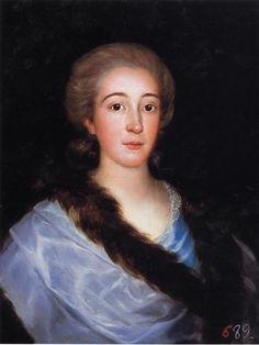 """""""Teresa Vallabriga"""" by Francisco de Goya (1783)"""