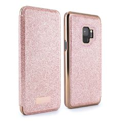 ba851f58b3368b Ted Baker TANAH Mirror Folio Case for Galaxy S9 - Rose Gold