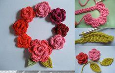Beautiful Roses Pattern