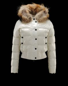0f7ee7a0a39 MONCLER ALPIN Women Down Jacket White Moncler Jacket Women