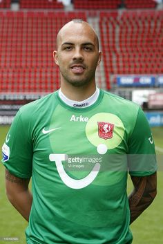goalkeeper Nikolay Mihaylov of FC Twente during the Photo Call of FC Twente at the Grolsch Veste on July 17, 2012 in Enschede, The Netherlands.