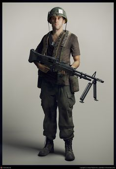 Soldier by Hasan Bajramovic | Realistic | 3D | CGSociety