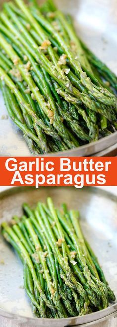 Garlic Butter Sauteed Asparagus – the easiest & healthiest asparagus recipe ever, takes only 10 mins to prep. Quick, fresh, and delicious | http://rasamalaysia.com