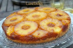 Gateau renversé a l'ananas facile Brownie Pudding, Cake Land, Desserts With Biscuits, Haitian Food Recipes, French Desserts, Desert Recipes, Soul Food, Bakery, Food Porn