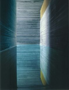 Thermal Baths, Vals by Peter Zumthor.