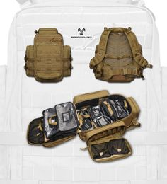 PRM-1 Pack by www.SpecOps.PL http://soldiersystems.net/2012/03/04/prm-1-pack-interior/