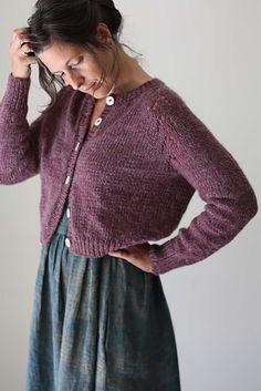 Ravelry: Felix Cardigan pattern by Amy Christoffers Knit Cardigan Pattern, Sweater Knitting Patterns, Knit Patterns, Aran Weight Yarn, Quick Knits, Knit Crochet, Crochet Vests, Crochet Cape, Crochet Edgings