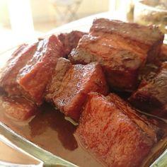 豚バラ蜂蜜カレー山椒煮