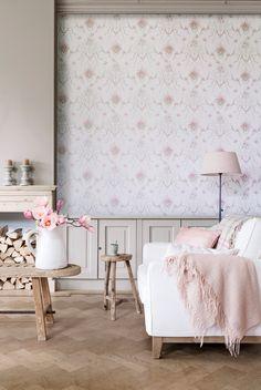 living room / Wallpaper Vintage Lane - BN Wallcoverings