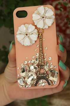 Free iPhone5 case or iPhone4/4S case  New Retro Paris by chen370, $8.89