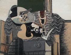 Georges Braque. Nature Morte avec un verre 1930