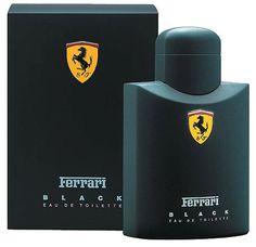 Ferrari Black   Perfume masculino   Edt cítrico amadeirado
