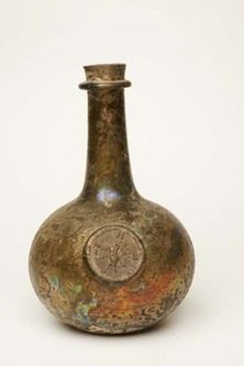 wine bottle, c. 1650