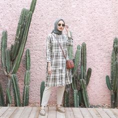 Casual Hijab Outfit, Ootd Hijab, Hijab Chic, Ootd Fashion, Modest Fashion, Fashion Muslimah, Ootd Poses, Moslem Fashion, Modest Summer Outfits