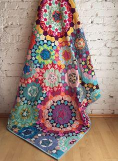www.lieblingsdecke.de Krabbeldecken und Quilts aus Frankfurt La Passacaglia quilt finished!