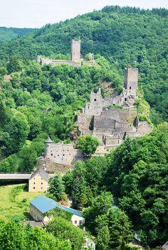 Manderscheid Castle in Germany