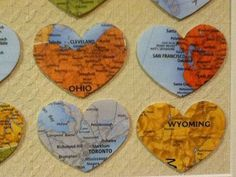Room To Talk - How to Make a Heart Art Travel Log