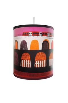 Docklands Light Railway lamp shade