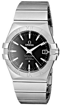 I'm taking a collection...this is the watch Agustin wants. Figures... :) Omega Men's 123.10.35.20.01.001 Constellation Chronometer Black Dial Watch