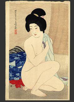 After the bath (70/100), Hakuho Hirano
