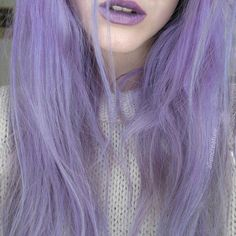 I want to dye my hair this color omg ❤️