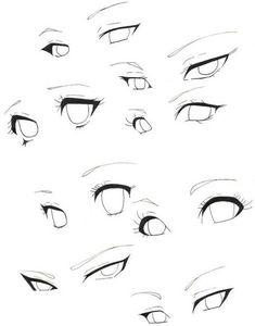 Pin by reedkam on practicing eyes in 2019 art sketches, manga eyes, art ref Sketches, Anime Eye Drawing, Anime Drawings Sketches, Drawing Body Poses, Cartoon Art Styles, Anime Eyes, Eye Drawing Tutorials, Anime Drawings Tutorials, Art Sketches