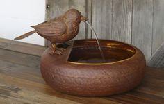 Folk Art Little Bird Fountain Farmhouse Lane https://www.amazon.com/dp/B074HCN2TW/ref=cm_sw_r_pi_dp_x_eT7JzbAYZDNN0