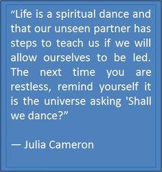 Never tire of Julia Cameron's wisdom